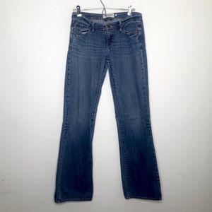 Abercrombie & Fitch Stretch Blue Denim Jeans Size 2